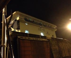 27. The Gatun Locks control center.