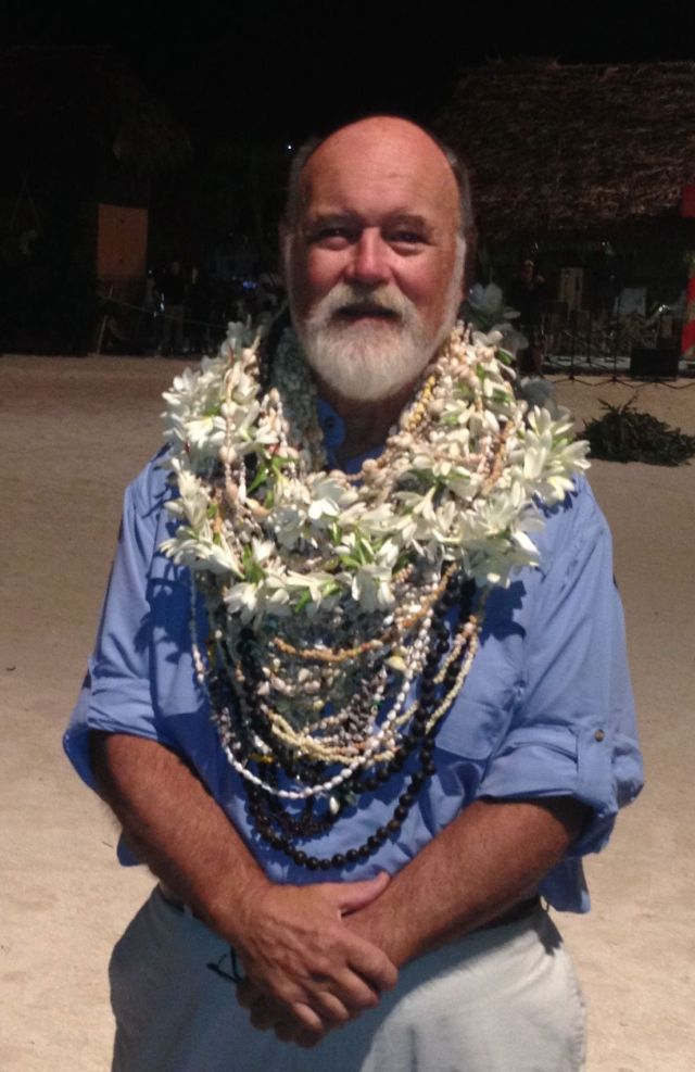 15. Bill attended almost every Nunue dance practice for a month & took photos. They made friends with him and a few nights before the final competition 75 dancers and musicians put a lei around his neck to thank him for motivating them to excel