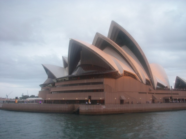 100. Another view of the Sydney Opera House