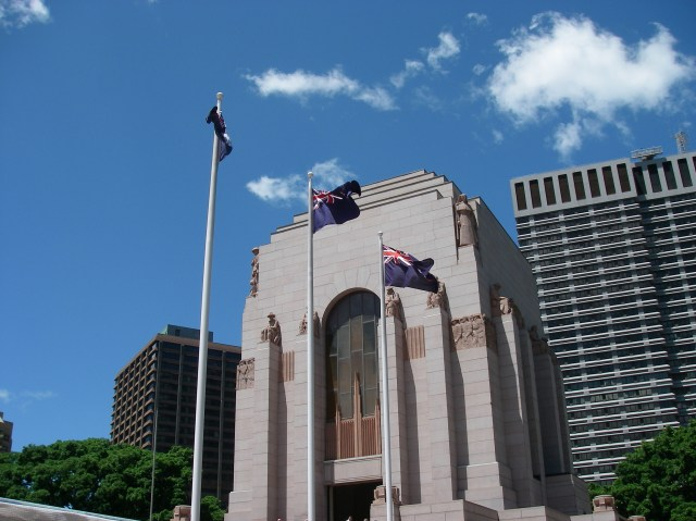 101. The ANZAC War Memorial for Australian military men and women honored those who paid the ultimate sacrifice to their country
