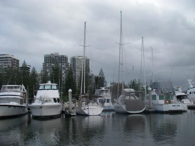 16.5. Joyful's stern at Southport