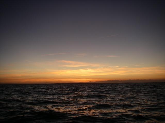 74. Sunset on the Tasman Sea